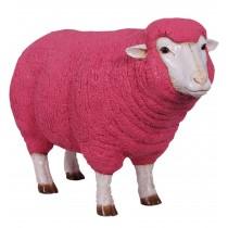 Merino Ewe Head Up - Pink - 105cm