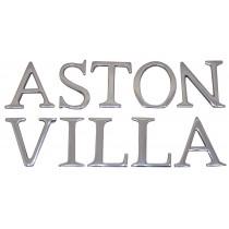 Aluminium Aston Villa Letters 3.5