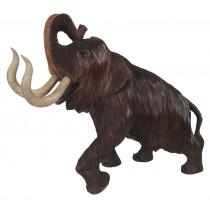 Wooden Mammoth 36cm