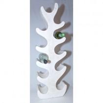 Wooden Tree Wine Bottle Holder (100cm) White Wash