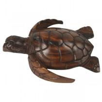 Wooden Turtle 20cm
