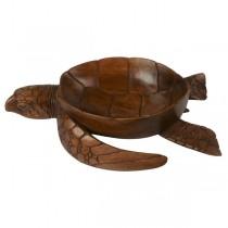 Wooden Turtle Walking Bowl 40cm