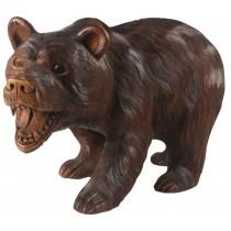 Wooden Bear Walking 30cm