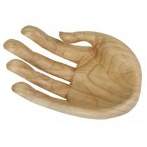 Wooden Hand Bowl Natural Finish
