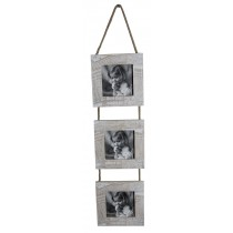 Journal Triple Hanging Photo Frame (Square)