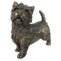 Bronze Finish - West Highland Terrier Dog 14.5cm