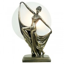 Dancing Lady Knee Up Lamp 38cm