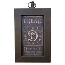Dream Oblong Wall Clock *MIN QTY 10*