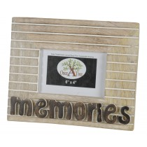 Mango Wood Memories Photo Frame