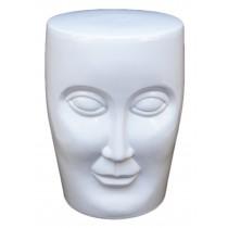 Face Stool - White  ** Slight Seconds **