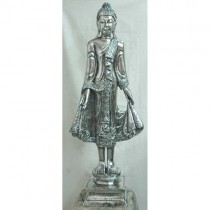 Electroplated Standing Buddha - EX DISPLAY