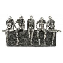 5 Figures Sitting 31cm