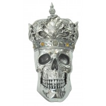 Skull with Crown 36cm