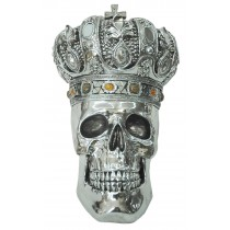 Skull with Crown 33cm