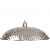 Aluminium Nickel Hanging Lamp - 45cm