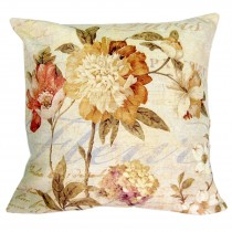 Cushion Cover Only - Flowers (Fleur)
