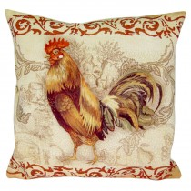 Cushion Cover Only - Cockerel (Left)