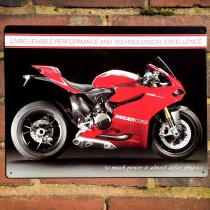 Ducati 1199 Panigale R Metal Sign - 41cm