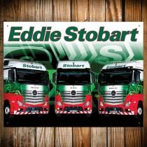 Eddie Stobart - Trio Metal Sign - 41cm