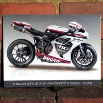 Ducati 848 Evo Metal Sign - 41cm