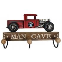 Man Cave Truck Hanger (3 Hooks) 29cm