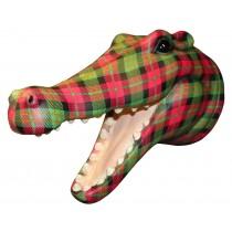 Crocodile Head (Red Tartan) ** SECONDS **