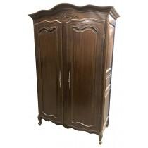 French Armoire / Wardrobe (Mahogany)