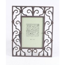 Photo Frame - Rust Metal Finish   ** In  Addition to a Carriage Paid Order  **