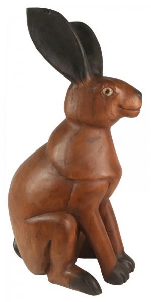 Wooden Standing Rabbit