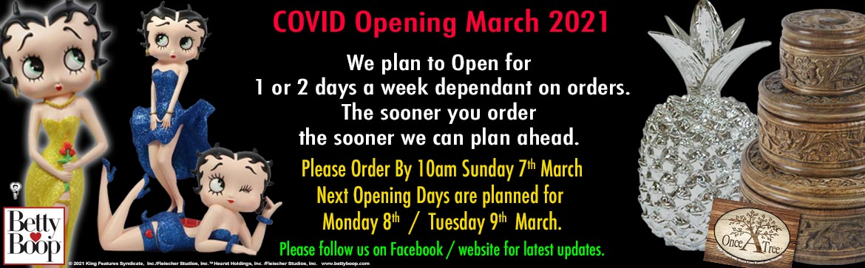 Covid Opening Jan 2021