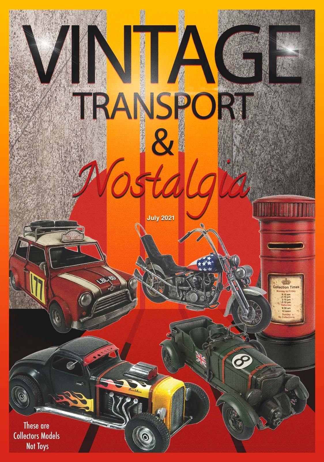 Vintage Transport & Nostalgia Front Cover